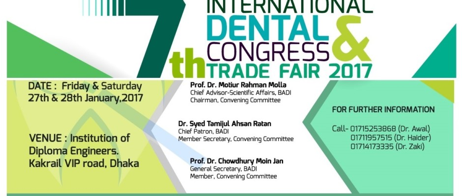 7th International Dental Congress and Trade Fair 2017